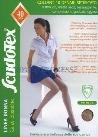 SCUDOTEX 433 Kompressziós  Gyógyharisnyanadrág 40 den