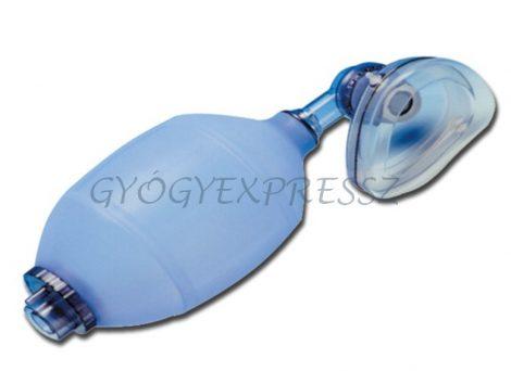 Lélegeztető ballon gyerek méret maszkkal  SILICONE (MG 14346)