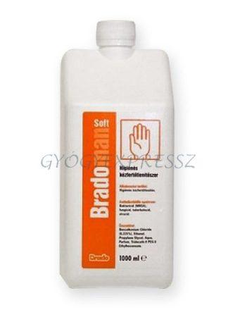BRADOMAN SOFT  Kéz- és bőrfertőtlenítő 1000 ml (MG 949)