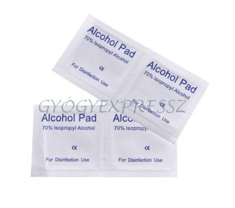 Fertőtlenítő Kendő Alkoholos ALCOHOL PADS 100 db
