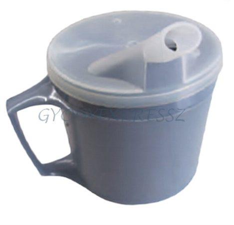 Életviteli kettős falú csőrös pohár 200 ml (MG 22670)