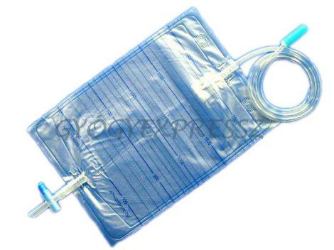 URINE BAG Vizeletgyűjtő tasak 2 literes T csapos leeresztéssel