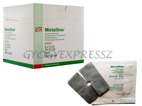 METALLINE TRACHEA alumíniumos sebfedő lap 8 x 9 cm (50db)