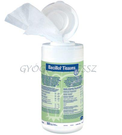 BACILLOL TISSUES Felületfertőtlenítő kendő dobozos 100 db