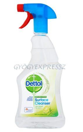 DETTOL Antibakteriális Felületfertőtlenítő Spray Lime 500 ml