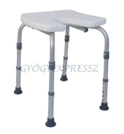 Fürdőkád ülőke DURO-HIGI higiéniai kivágással (MG 24831)