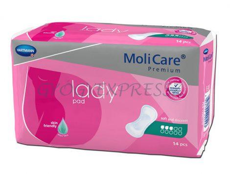 MOLICARE LADY PAD 1,5 cseppes Inkontinencia betét 14 db
