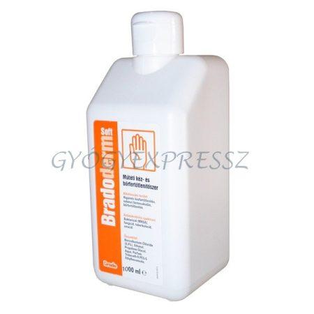 BRADODERM SOFT Kéz-és bőrfertőtlenítő 1000 ml (MG 2390)