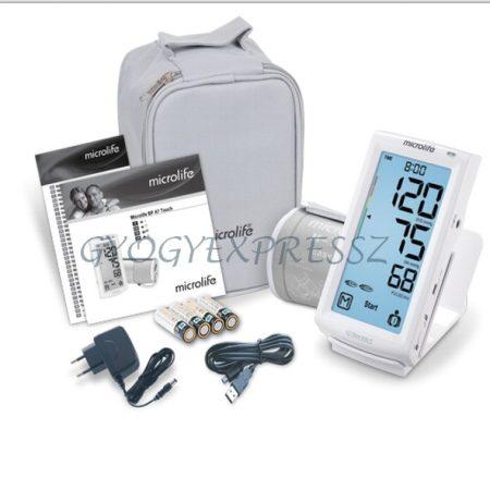 MICROLIFE BP A7 Touch Érintőképernyős Vérnyomásmérő + Adapter (MG 20214)