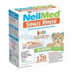 SINUS RINSE NEILMED utántöltő tasak Gyerek orrmosóhoz
