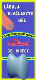 PEDIBUS 7102 GEL DIRECT Lábujj elválasztó gél 1db