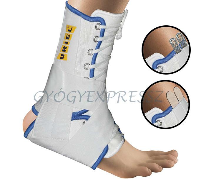 Bokaszalag szakadás kezelése a boka mozgásterjedelmének teljes helyreállításával