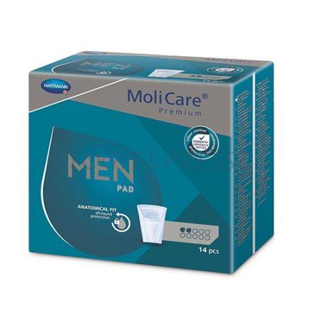 MOLICARE MEN PAD 2 cseppes Férfi inkontinencia betét  14 db