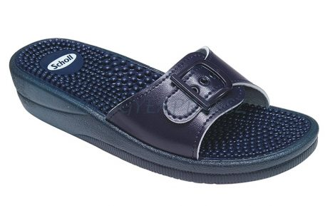Scholl New Massage papucs kék