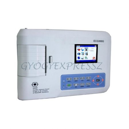 CONTEC CMS 300GA Hordozható EKG készülék 3 csatornás (MG 1007)