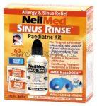 Gyerek SINUS RINSE NEILMED Orr, homlok- és arcüreg irrigátor, Orrmosó készlet