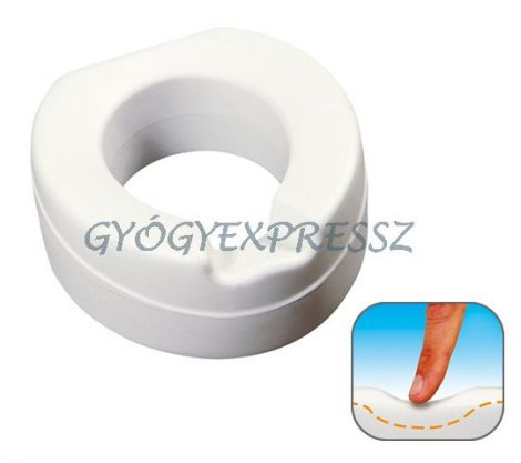 WC magasító SOFT puha (11 cm magas)