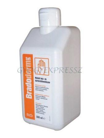 BRADOPLUS Kéz- és bőrfertőtlenítő 500 ml (MG 15419)