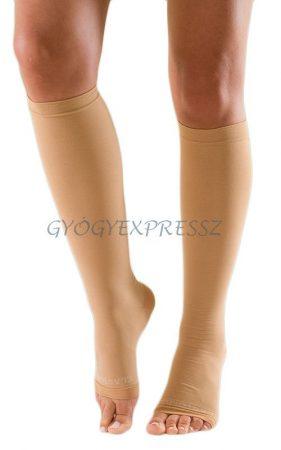 ELASTOFIT AD I-es kompressziós Térdharisnya NYITOTT lábfejű testszínű