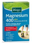 KNEIPP Magnézium 400+B+C+E Vitamin+Folsav 30 db