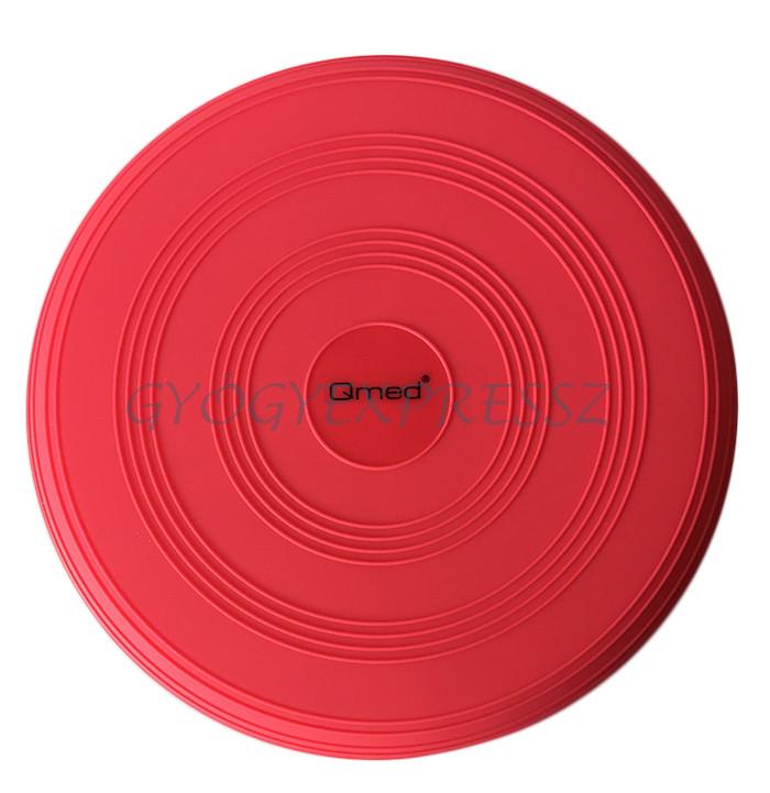 QMED Egyensúlyozó korong pumpával PIROS 33 cm - Gyógyexpressz webáruház e923cc9345