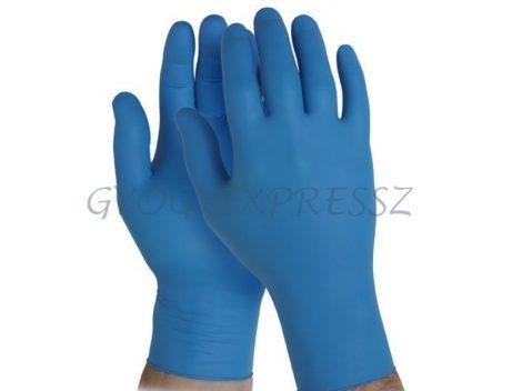 MAXTER Nitril Gumikesztyű Púdermentes kék S-es méret 100 db