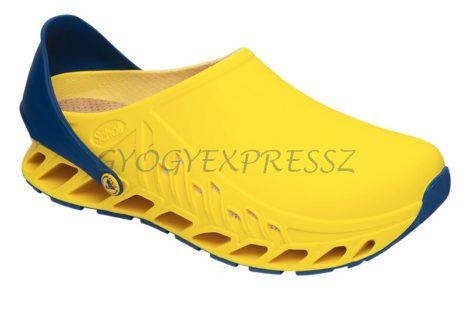 Scholl Evoflex Munka Klumpa sárga-sötétkék