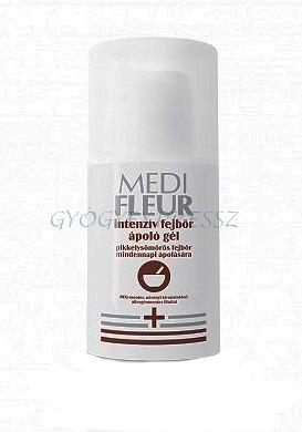 MEDIFLEUR Intenzív Fejbőrápoló gél pikkelysömörre 50 ml