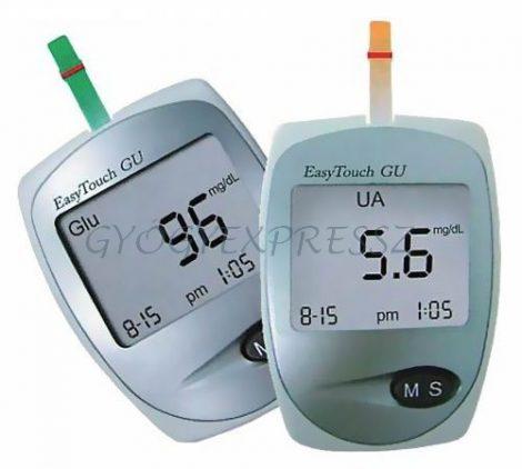 WELLMED Easytouch GU vércukor- és húgysavszintmérő