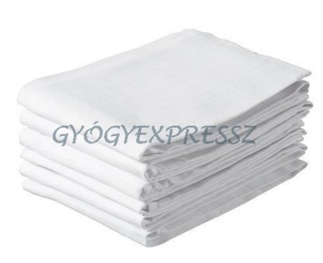 BABY BRUIN Cseh textilpelenka fehér 5db