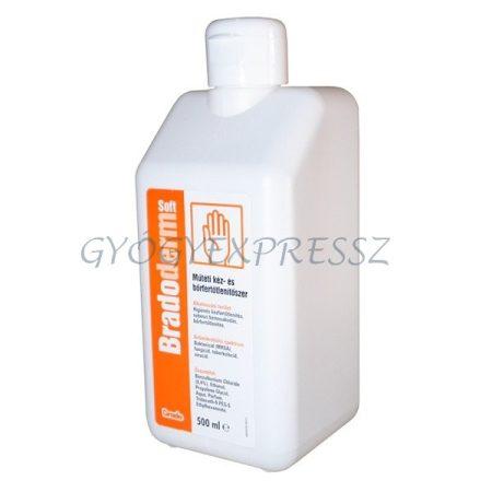 BRADODERM SOFT Kéz-és bőrfertőtlenítő 500 ml (MG 12997)