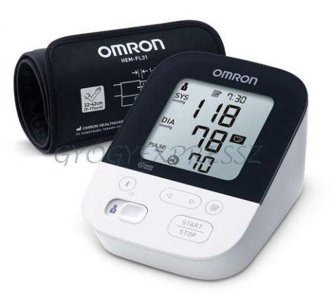 OMRON M4 Intelli IT Intellisense felkaros okos-vérnyomásmérő Bluetooth adatátvitellel