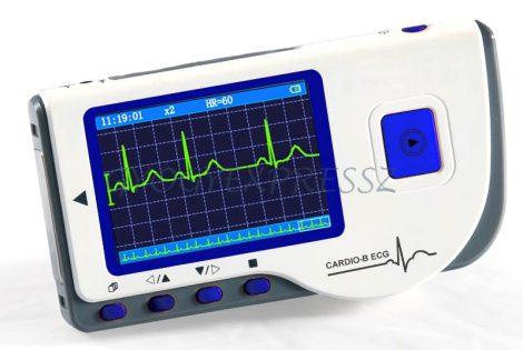 CARDIO-B Kézi EKG monitor színes kijelzővel + szoftver (MG 15284)