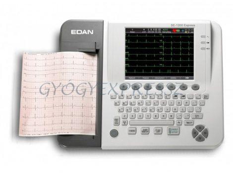 EDAN SE-1200 Expressz hordozható 12 csatornás EKG készülék (MG 7374)
