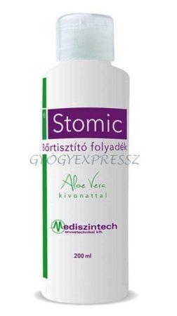 Stomic Bőrtisztító folyadék Aloe Vera kivonattal 200 ml