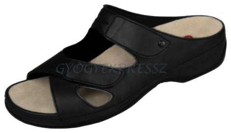 Berkemann Janna stretch papucs fekete 906