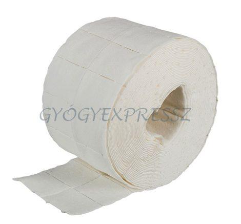 PUR-ZELLIN Papírvattatörlő Tekercs 4 x 5 cm-es, 500 lapos