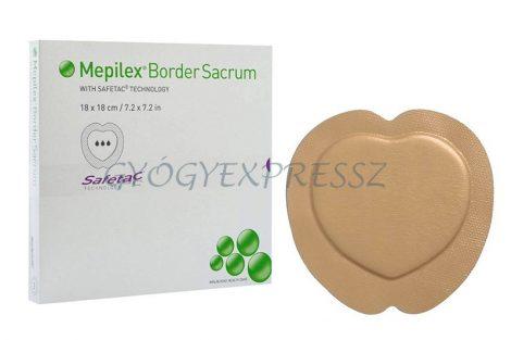 MEPILEX BORDER SACRUM kötszer keresztcsont-tájékra 20 x 20 cm  (MG 3505)
