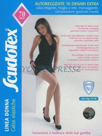 SCUDOTEX 488 Kompressziós Combtőig érő gyógyharisnya  70 den