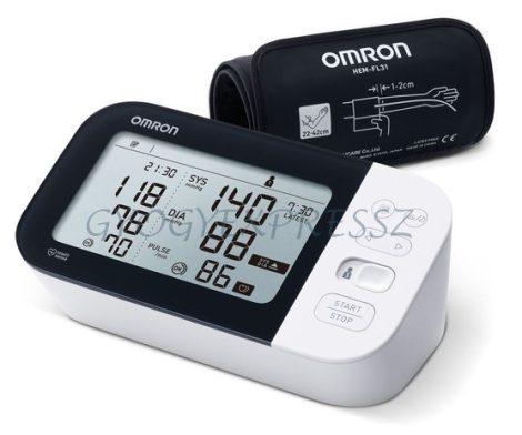 OMRON M7 Intelli IT Intellisense felkaros okos-vérnyomásmérő BT, AFIB