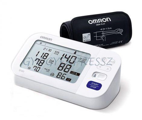 OMRON M6 Comfort AFIB Intellisense felkaros vérnyomásmérő ÚJ