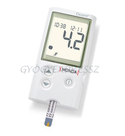 DCONT MONDA Vércukorszintmérő készülék