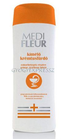 MEDIFLEUR Krémtusfürdő Cukorbetegeknek 200 ml