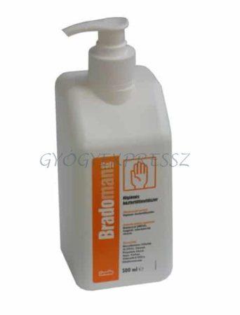BRADOMAN SOFT  Kéz- és bőrfertőtlenítő pumpás 500 ml (MG 5010)