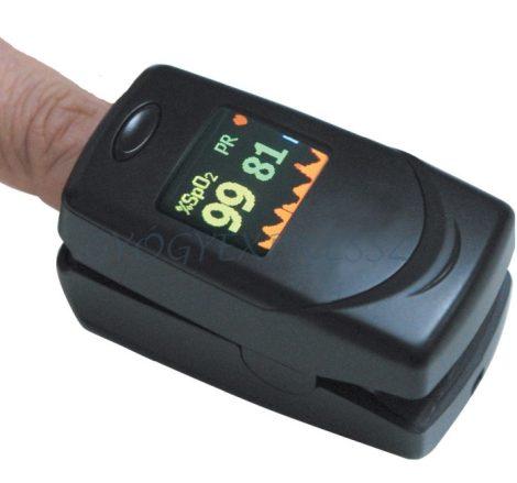 OXY-6 Professzionális pulzoximéter riasztás funkcióval (MG 1761)