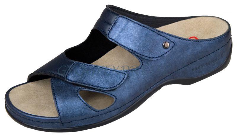 Berkemann Janna stretch papucs kék (37-es méret)