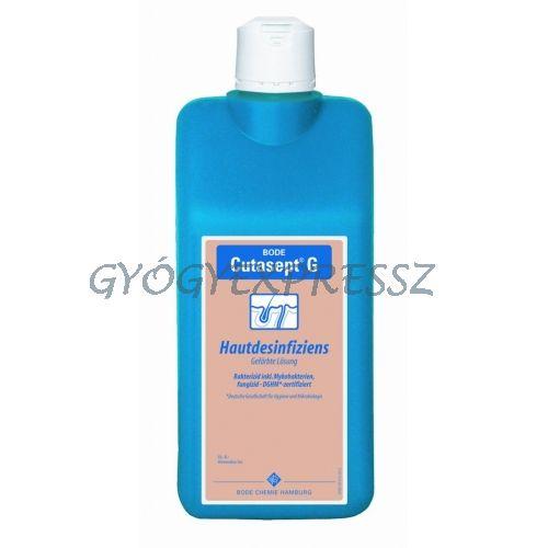 Cutasept F szintelen bőrfertőtlenítő 1000ml