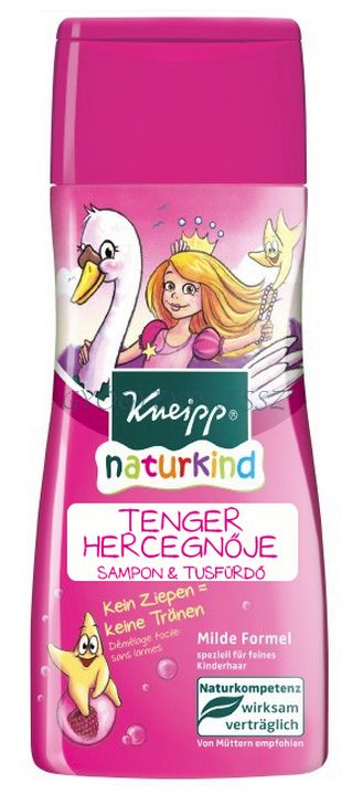 KNEIPP NATURKIND Tusfürdő és sampon - Tenger Hercegnője 200ml