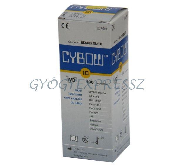 CYBOW 10 vizelet tesztcsík 100 db (MG 4397)