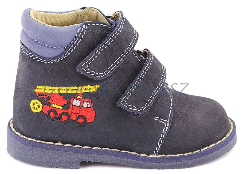 SALUS FLO-810 PREMIUM Keskeny Gyerekcipő zárt - fiús színű